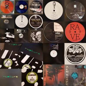 Hardcore-Jungle-Techno-Acid vinyl shipment