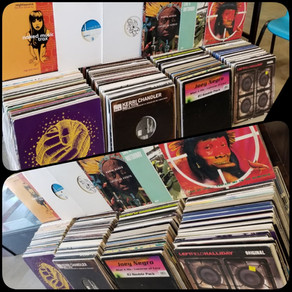 House Music used vinyl record collection