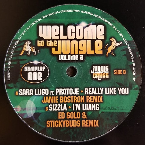 "Sara Lugo Ft. Protoje & Sizzla ""Welcome To The Jungle Volume 3 (Sampler 1)"""