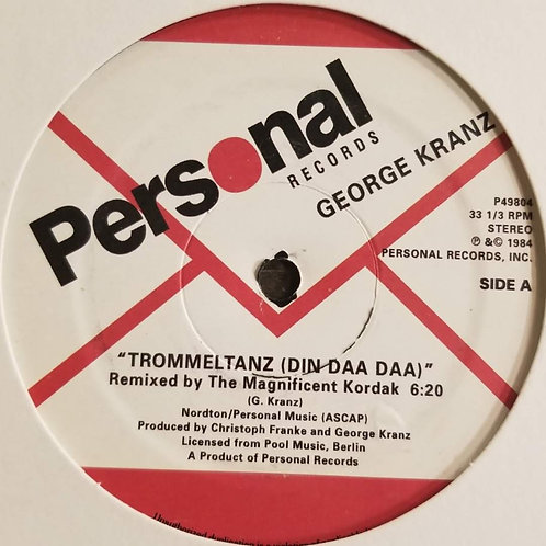 """George Kranz """"Trommeltanz (Din Daa Daa)"""""""