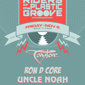Riders Of The Plastic Groove Anniversary Party