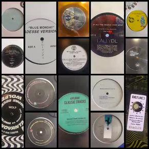 New house, acid, techno vinyl shipment