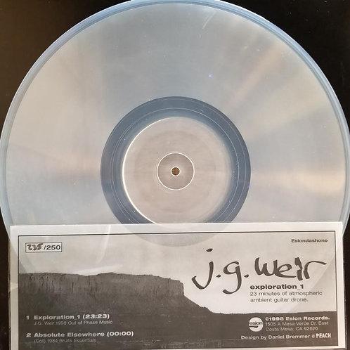 "J.G. Weir ""Exploration 1"""