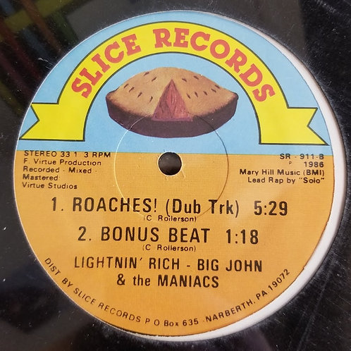 """Lightnin' Rich - Big John & The Maniacs """"Roaches"""""""