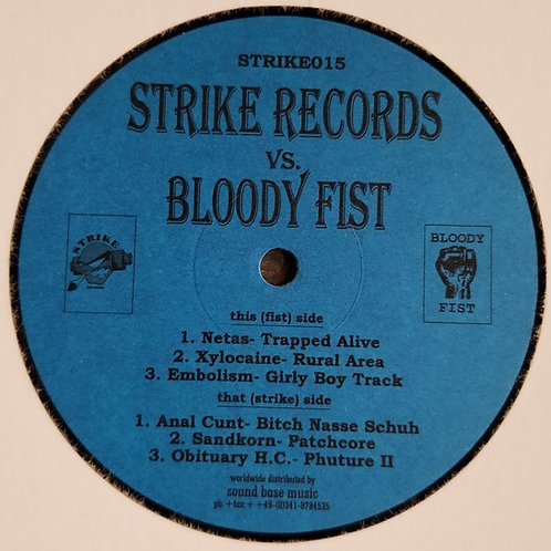 "Various Artists ""Strike Vs. Bloody Fist"""