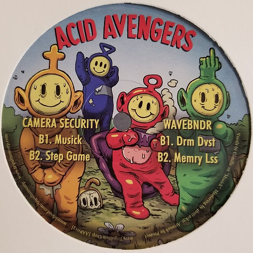 "Camera Security, WaveBndr ""Acid Avengers 013"""