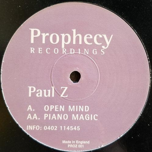"""Paul Z """"Open Mind"""""""