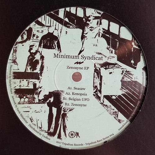 """Minimum Syndicat """"Zenosyne EP"""""""
