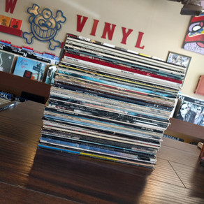 Rock, Soul, Blues, New Wave record collection