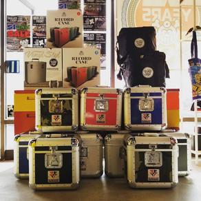 DJ cases, record boxes, vinyl storage, stylus, cartridges - fully stocked!