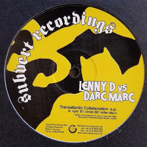 "Lenny Dee vs. Darc Marc ""Transatlantic Collaboration EP"""