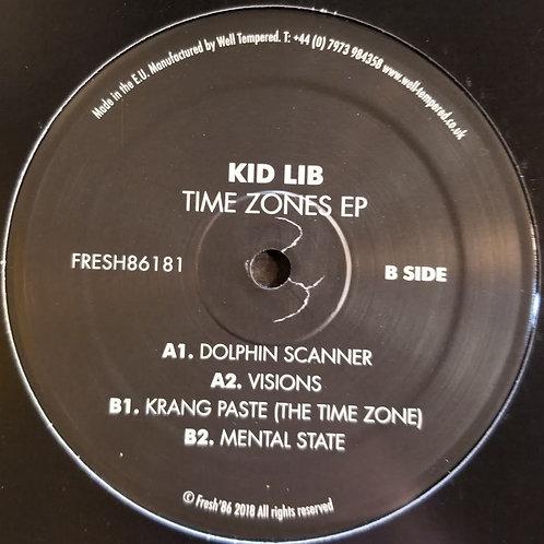 "Kid Lib ""Time Zones EP"""