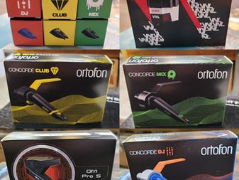 We are an official dealer of Ortofon cartridges, stylus & audio gear