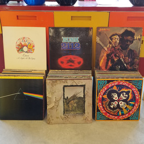 Awesome 60's - 70's classic rock record collection