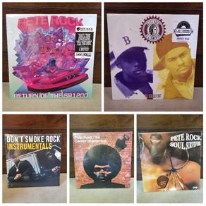 Brand new vinyl shipment of Pete Rock albums
