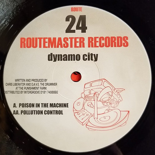 "Dynamo City ""Poison In The Machine"""