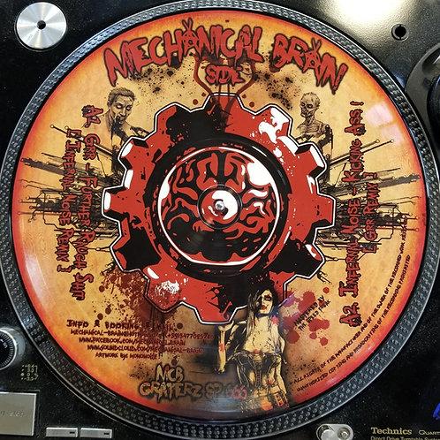 "Infernal Noise, Grr & DJ Hektek ""Mechanical Brain Vs Cheeze Graterz"""