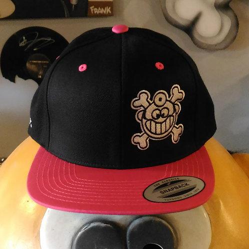 "Dr. Freecloud's Official Logo Hat ""Black/Pink"""