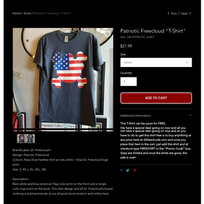 FREE T-Shirt Deal (online only)
