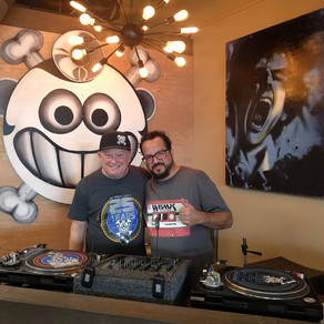 Mark Farina dropped by Dr. Freecloud's for some record shopping