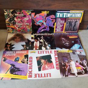 4 Big stacks of soul & funk used vinyl