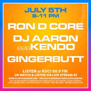 "Tonight is ""Vinyl Meltdown"" live broadcast @ Dr. Freecloud's"