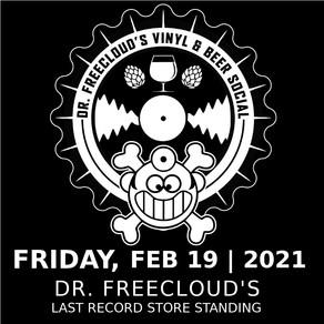 Vinyl & Beer Social tonight @ Dr. Freecloud's
