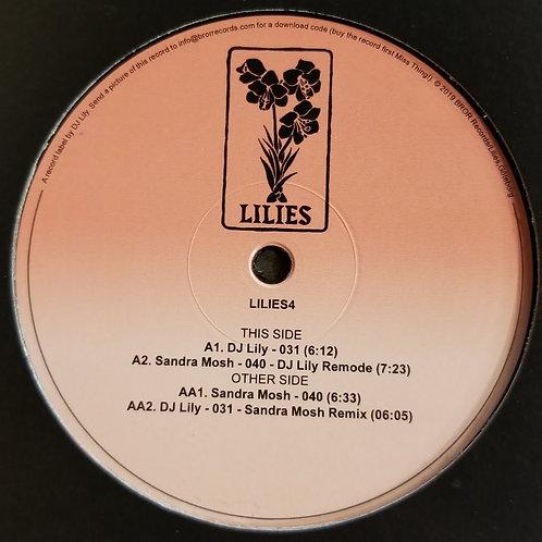 """DJ Lily & Sandra Mosh """"LILIES4"""""""