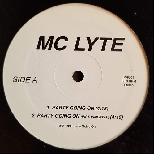 """MC Lyte """"Party Going On"""""""