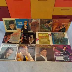Frank Sinatra record collection