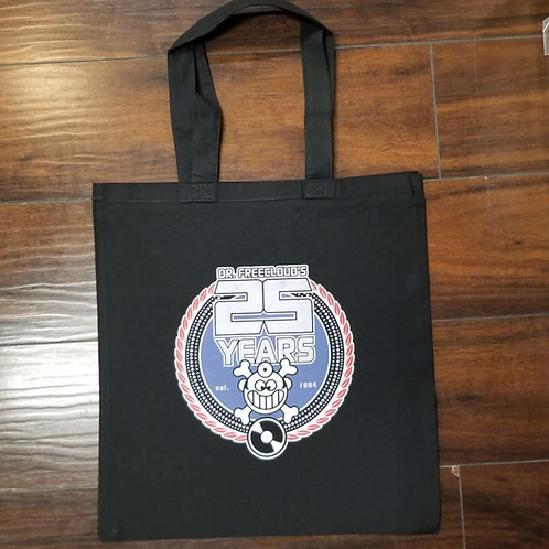 "Dr. Freecloud's - 25 Year Anniversary ""Totebag"""
