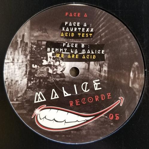 "Kaurtexx & Benny La Malice ""We Are Acid"""