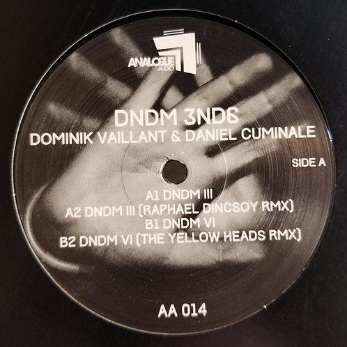 "Dominik Vaillant & Daniel Cuminale ""DNDM 3ND6"""