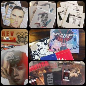 New + Restock Vinyl Shipment