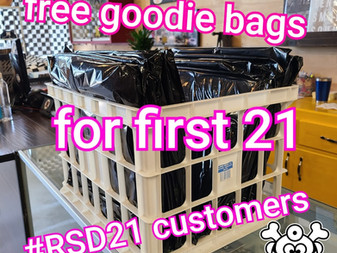 Free goodie bags first 21 RSD customers