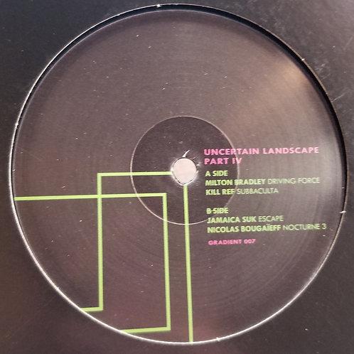 """Various Artists """"Uncertain Landscape Part 04"""""""