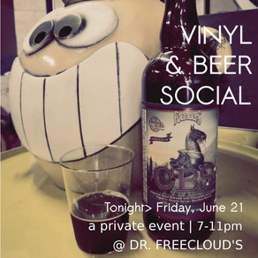 Vinyl & Beer Social a private event