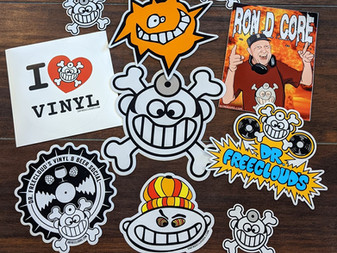 """Who wants a Dr. Freecloud """"Sticker pack""""?"""