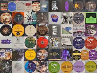 Brand new Techno, House, Acid, Jungle, Rave, etc. vinyl shipment