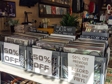 HUGE 50% off Record Store Day Vinyl Sale