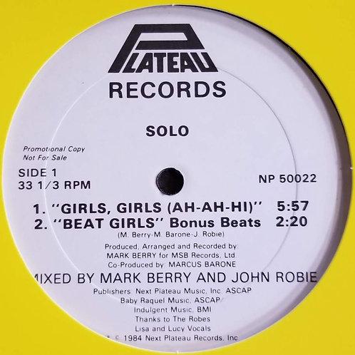 """Solo """"Girls, Girls (Ah-Ah-Hi)"""""""