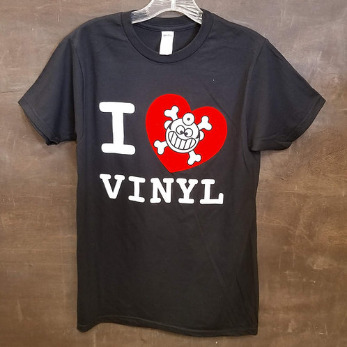 "Dr. Freecloud's I Love Vinyl ""T-shirt"""