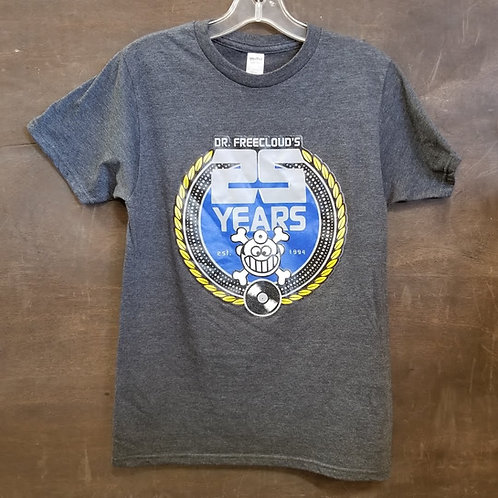 "Dr. Freecloud's - 25 Year Anniversary ""t-shirt"""