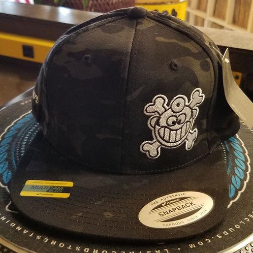 """Dr. Freecloud's Official Logo Hat """"Black Camo"""""""