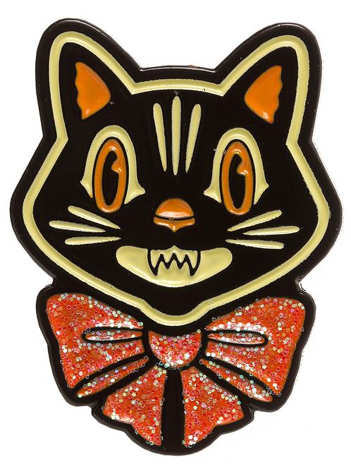 Halloween Cat Enamel Pin