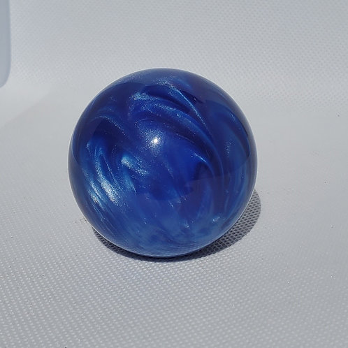 Royal Blue Pearl Shimmer Swirl Floor Shift