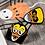 Thumbnail: Candy Corn Skull Enamel Pin