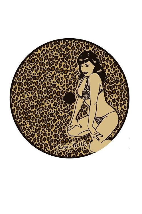 Leopard Bettie Page Parasol