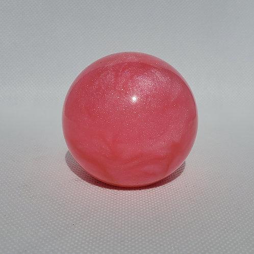 Bubblegum Pink Shimmer Swirl Floor Shift