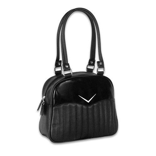 Black Vega Bowler Purse